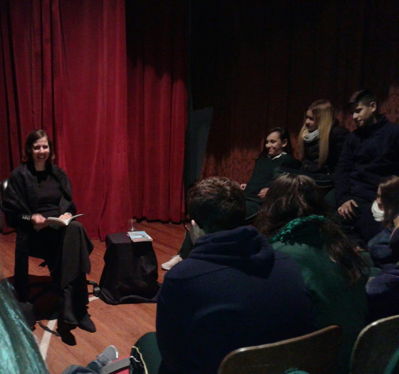 Lecturas Dramatizadas en el Institución Nuestra Señora del Huerto- Mosconi.