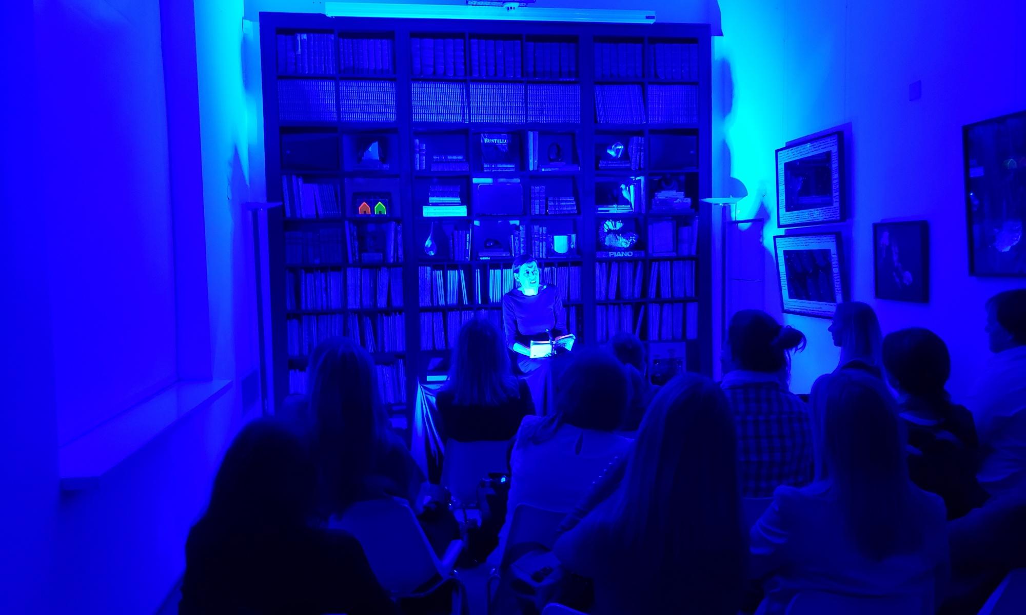 Teatro de Literatura, de Verónica Pelaez en OdA