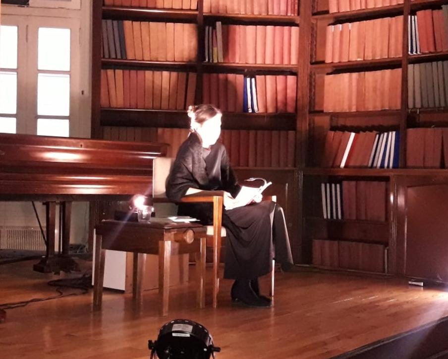 Lecturas Dramatizadas en la Biblioteca Argentina para Ciegos (BAC).
