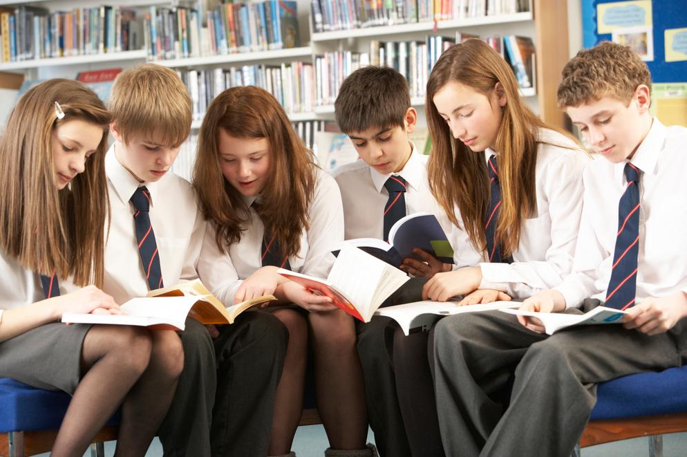 Lectura en colegios y escuelas